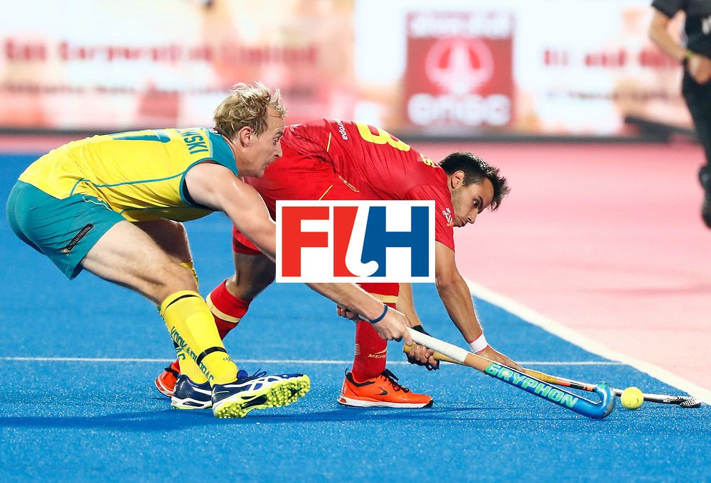 Odisha Men's Hockey World League Final Bhubaneswar 2017<br /> Match id:15<br /> Spain v Australia<br /> Foto: <br /> COPYRIGHT WORLDSPORTPICS KOEN SUYK