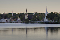 Mahone Bay churchs, Nova Scotia