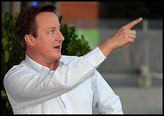 SEP 28 2013 David Cameron arrives at the Conservative Party Conference