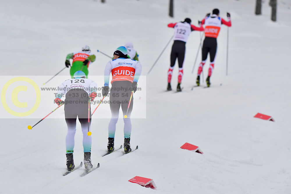 \MESSINGER Nico Guide: KLAUSMANN LP, GER, B2 at the 2018 ParaNordic World Cup Vuokatti in Finland