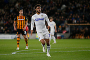Leeds United forward Tyler Roberts (11)  during the EFL Sky Bet Championship match between Hull City and Leeds United at the KCOM Stadium, Kingston upon Hull, England on 2 October 2018.