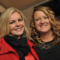 Free Pic/ No Repro Fee.Pictured at the opening of Kinsales Newest Night Club, Studio Blue, were Elaine Curran, Glanmire and Siobhan Kelly, Douglas..Pic. John Allen