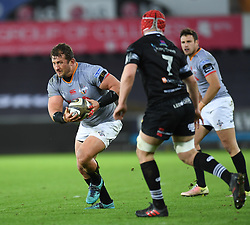 Southern Kings' Schalk Ferreira<br /> <br /> Photographer Mike Jones/Replay Images<br /> <br /> Guinness PRO14 Round Round 15 - Ospreys v Southern Kings - Friday 16th February 2018 - Liberty Stadium - Swansea<br /> <br /> World Copyright © Replay Images . All rights reserved. info@replayimages.co.uk - http://replayimages.co.uk
