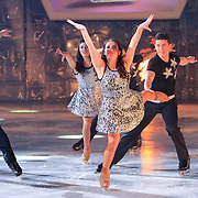 NLD/Hilversum/20130209 - Finale Sterren Dansen op het IJs 2013, dansers, Lauren Farr en Ryan Shollert