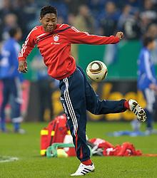 24.03.2010, Arena AufSchalke, Gelsenkirchen, GER, DFB Pokal, Schalke 04 vs  FC Bayern Muenchen im Bild Alaba  ( Bayern #27 )  EXPA Pictures © 2010, PhotoCredit: EXPA/ nph/   Kokenge / SPORTIDA PHOTO AGENCY