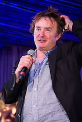 © Licensed to London News Pictures . 20/07/2013 . Suffolk , UK . Dylan Moran stand up performance in the Comedy Arena . The Latitude music and culture festival in Henham Park , Southwold . Photo credit : Joel Goodman/LNP