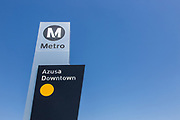 Metro Gold Line Downtown Azusa Station
