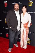 Evan Funké, and wife
