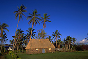 Traditional grass home, Kadavu, Fiji<br />