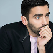 December 14, 2016 - New York, NY : Phillip Picardi, Digital Editorial Director at Teen Vogue, is photographed during his interview with the New York Times's Anna North (not visible) at Condé Nast's Teen Vogue offices in One World Trade in Manhattan on Wednesday afternoon. CREDIT: Karsten Moran for The New York Times