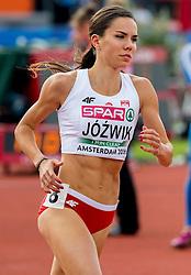 06-07-2016 NED: European Athletics Championships, Amsterdam<br /> Joanna Jozwik POL