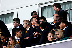 Wasps players not involved in the Premiership Cup fixture against Worcester Warriors look on - Mandatory by-line: Robbie Stephenson/JMP - 12/10/2019 - RUGBY - Ricoh Arena - Coventry, England - Wasps v Worcester Warriors - Premiership Rugby Cup