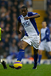 BIRMINGHAM, ENGLAND - Saturday, January 19, 2008: Birmingham City's Olivier Kapo in action against Chelsea during the Premiership match at St Andrews. (Photo by David Rawcliffe/Propaganda)