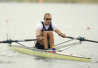 Photo: Chris Ratcliffe.<br /> <br /> World Rowing Championships. 24/08/2006.<br /> <br /> Olaf Tufte of Norway in his Men's Single Sculls Semi final.
