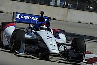 Mikhail Aleshin, The Raceway at Belle Isle Park, Detroit, MI USA 6/1/2014