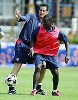 Fotball <br /> FIFA World Youth Championships 2005<br /> Nederland / Holland<br /> 10.06.2005<br /> Foto: Morten Olsen, Digitalsport<br /> <br /> Trening USA i Enschede / Training USA in Enschede<br /> <br /> Freddy Adu - Washington DC