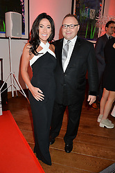 JONATHAN & KATRINA SHALIT at a party to celebrate the 21st anniversary of The Roar Group hosted by Jonathan Shalit held at Avenue, 9 St.James's Street, London on 21st September 2015.