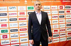 Serbian coach Igor Kokoskov during presentation of new head coach of Slovenian National Basketball Team, on February 12th, 2016 in Radisson Blu Hotel, Ljubljana, Slovenia. Photo by Vid Ponikvar / Sportida