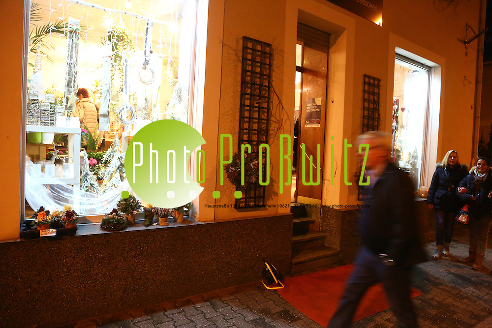 Mannheim. 05.11.16 Lange Nacht der Kunst und Gen&uuml;sse in den Stadtteilen:<br /> - Sandhofen<br /> Bild: Markus Prosswitz 05NOV16 / masterpress (Bild ist honorarpflichtig - No Model Release!)