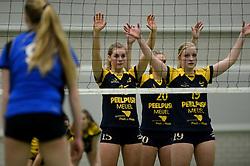 16-03-2013 VOLLEYBAL: FINALE NOJK JONGENS MEISJES A TEAMS EN MEISJES B TEAMS: WIJCHEN<br /> In sportcentrum Arcus werden de finales van de Nationale Open Jeugdkampioenschappen voor A teams jongens en meisjes en B teams meisjes gehouden / Peelpush - Sleen<br /> ©2013-FotoHoogendoorn.nl