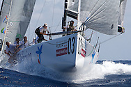 Bribon during Race 2 of the AUDI Medcup in Cartagena