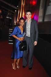 Actor NICHOLAS HOLT and actress FREEMA AGYEMAN from Dr Who at the Glamour magazine Women of the Year Awards held in the Berkeley Square Gardens, London W1 on 5th June 2007.<br /><br />NON EXCLUSIVE - WORLD RIGHTS