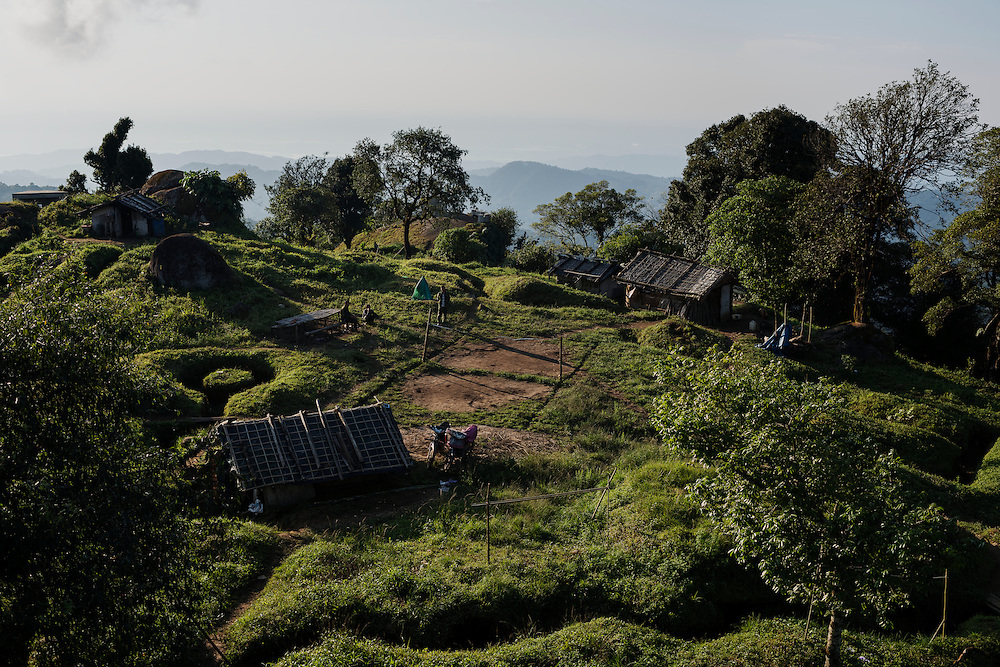 Mai Ja Yang 20160911<br /> Overview of Lagat Bum, one of the K.I.A. frontline outposts near Mai Ja Yang in Kachin State, Myanmar.<br /> Photo: Vilhelm Stokstad / Kontinent