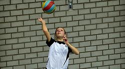 03-01-2015 NED: CMV Nationale Open Clubkampioenschappen Volleybal 2015, Houten<br /> Niet minder dan 491 jeugdteams, verdeeld over 27 sporthallen, begonnen aan de Nationale Open Clubkampioenschappen (NOJK) van 2015 / De jongens en meisjes CMV in actie in Houten bij Taurus