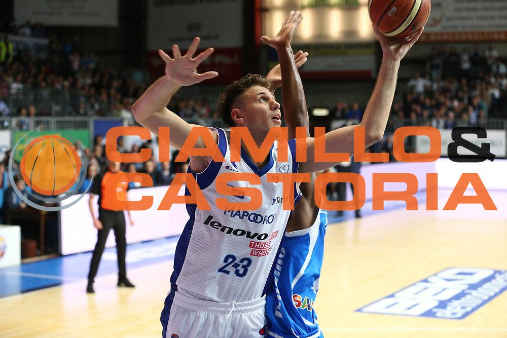 DESCRIZIONE : Cantu Lega A 2012-13 Lenovo Cantu Banco di Sardegna Sassari playoff quarti di finale gara 6<br /> GIOCATORE : Stefano Mancinelli<br /> CATEGORIA : Tiro<br /> SQUADRA : Lenovo Cantu<br /> EVENTO : Campionato Lega A 2012-2013<br /> GARA : Lenovo Cantu Banco di Sardegna Sassari<br /> DATA : 19/05/2013<br /> SPORT : Pallacanestro <br /> AUTORE : Agenzia Ciamillo-Castoria/G.Cottini<br /> Galleria : Lega Basket A 2012-2013  <br /> Fotonotizia : Cantu Lega A 2012-13 Lenovo Cantu Banco di Sardegna Sassari playoff quarti di finale gara 6<br /> Predefinita :