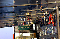LILLE , FRANCE - FEB-22-2003 - Lille , France has been named the 2004 European Capital of Culture. Pedestrians walk near the EURALILLE Commercial Center. (PHOTO © JOCK FISTICK)...