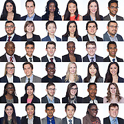 Actuarial Students National Association Convention headshots....260 to be precise