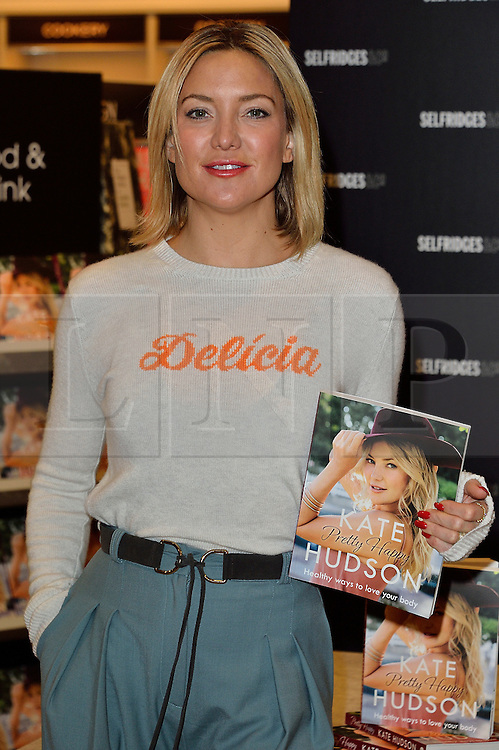 © Licensed to London News Pictures. 04/03/2016. Hollywood actress KATE HUDSON attends a book signing for her first book titled Pretty Happy: The Healthy Way to Love Your Body. London, UK. Photo credit: Ray Tang/LNP