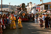 MEXICO, BAJA, FESTIVALS Carnival parade in Ensenada