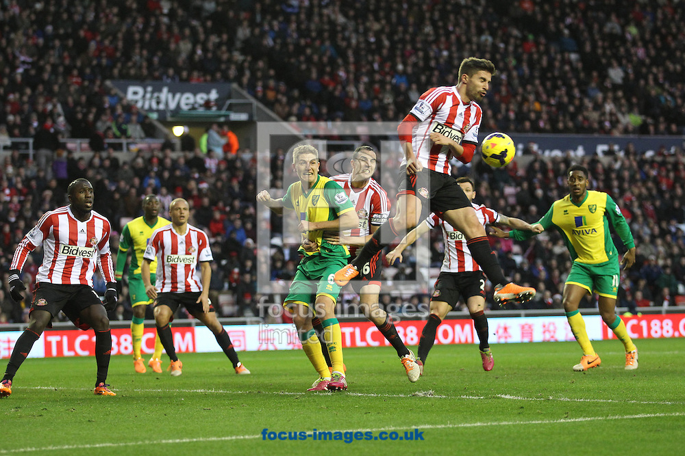 Picture by Paul Chesterton/Focus Images Ltd +44 7904 640267<br /> 21/12/2013<br /> Sunderland's Fabio Borini in action during the Barclays Premier League match at the Stadium Of Light, Sunderland.
