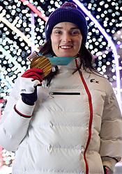 Les Coulisses, Behind the scenes, BOCHET_Marie at PyeongChang2018 Winter Paralympic Games, South Korea.