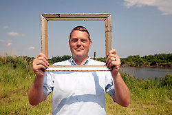 01 June 2010. Breton Sound Marina, Hopedale, Louisiana, USA.  <br /> Aaron Viles at the Breton Sound Marina in Hopedale on set for Spike Lee's upcoming movie, 'If God is Willing and da Creek Don't Rise.'<br /> Photo ©; Charlie Varley/varleypix.com.