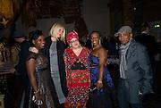 JENNIFER-JANE BENJAMIN; GWYNETH PALTROW; CAMILA BATMANGHELIDJH; JESSIE NUNES; ANNIE HUTCHINSON. , Rumble in the Jumble hosted by Gwyneth Paltrow and Camila Batmanghelidjh. To support Kids Company. The Boiler House. 152 Brick Lane. 6 November 2008 *** Local Caption *** -DO NOT ARCHIVE-© Copyright Photograph by Dafydd Jones. 248 Clapham Rd. London SW9 0PZ. Tel 0207 820 0771. www.dafjones.com.