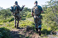 Counter_poaching Training and Integration with Canine Units, Amakhala Private Game Reserve, Eastern Cape, South Africa