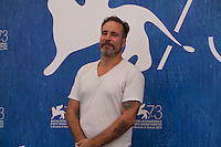 Nico Leunen at the Home film photocall at the 73rd Venice Film Festival, Sala Grande on Saturday September 3rd 2016, Venice Lido, Italy.