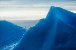 Blue ice in Svalbard