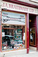 The List Magazine / Dundee City Council - Dundee Larder publication food / environmental photography.<br /> <br /> JA Braithwaite Coffe Merchant, Castle Street, Dundee.