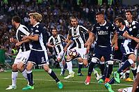Gol di Leonardo Bonucci Juventus goal celebration  <br /> Roma 17-05-2017 Stadio Olimpico.<br /> Football Calcio Finale Coppa Italia / Italy's Cup Final 2016/2017. Juventus - Lazio<br /> Foto Cesare Purini / Insidefoto