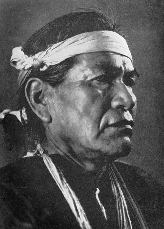 Hosteen Klah, Navajo Medicine Man, 1931. copy H&S