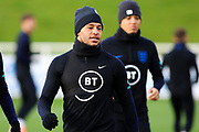England midfielder Alex Oxlade-Chamberlain during the England football team training session at St George's Park National Football Centre, Burton-Upon-Trent, United Kingdom on 13 November 2019.