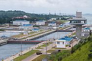 Canal de Panamá, exclusas de Agua Clara, Colon, Panamá