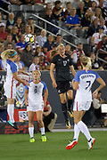 Hannah Wilkinson.<br /> Commerce City, Colorado - Friday September 15, 2017:  The USWNT takes on the New Zealand Women's National Football Team at Dick's Sporting Goods Park. Copyright photo: Jamie Schwaberow / ISI / www.photosport.nz