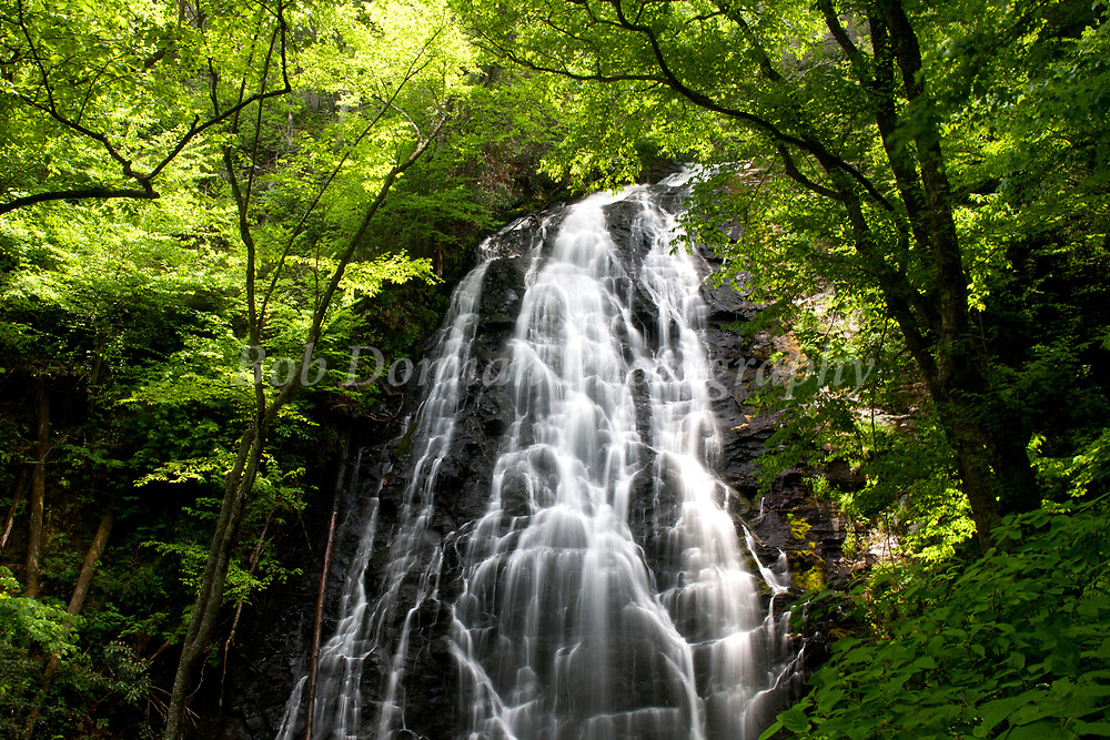 May 27, 2007, Blue Ridge Parkway, NC, USA; Crabtree Falls. Copyright © 2007 Bob Donnan