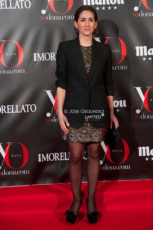 Alejandra Martos attends 'Yo Dona' Magazine's Mask Party at Casino on 18 February, 2013 in Madrid