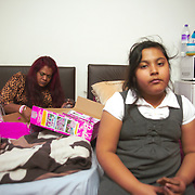 Linda and her daughter were given a room in a B&B in Southall.