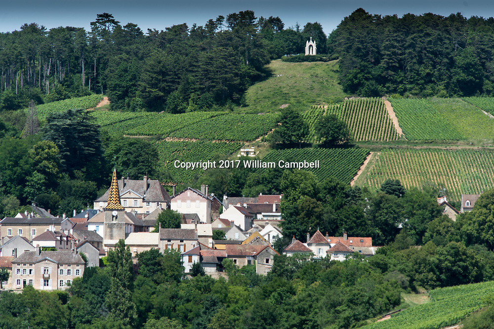 The French village Pernand-Vergelesses has 8  Grand Cru Climates in the wine region of Burgundy.